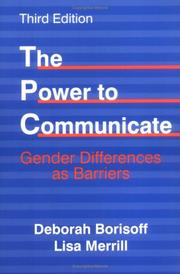 Cover of: The power to communicate
