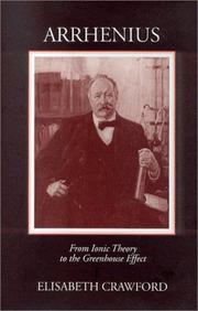 Cover of: Arrhenius