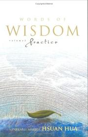 Cover of: Words of wisdom: Chan meditation