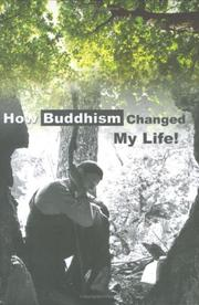Cover of: How Buddhism changed my life