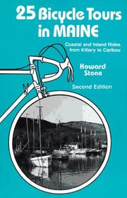 Cover of: 25 bicycle tours in Maine