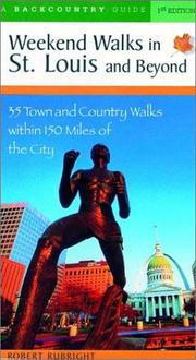 Cover of: Weekend Walks in St. Louis and Beyond