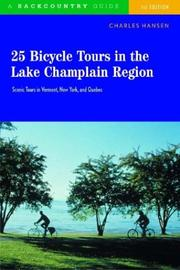 Cover of: 25 bicycle tours in the Lake Champlain region