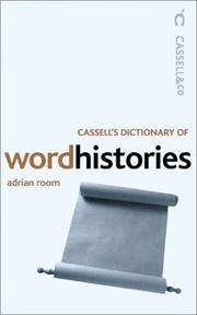 Cover of: Cassell's Dictionary of Word Histories