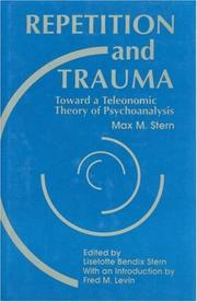 Cover of: Repetition and trauma | Max M. Stern