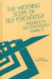 Cover of: The Widening Scope Self Psychology