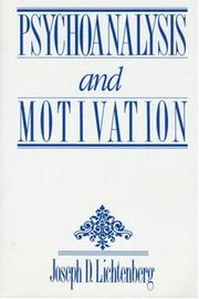 Cover of: Psychoanalysis & Motivation