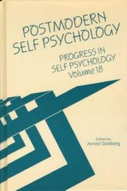 Cover of: Postmodern Self Psychology
