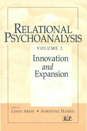 Relational Psychoanalysis, Vol. II by