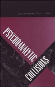Cover of: Psychoanalytic Collisions