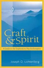 Cover of: Craft and spirit