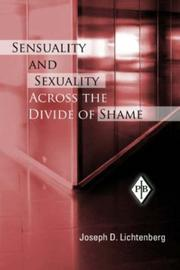 Cover of: Sensuality and Sexuality Across the Divide of Shame (Psychoanalytic Inquiry Book)