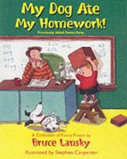 Cover of: My Dog Ate My Homework