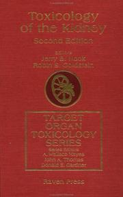 Cover of: Toxicology of the kidney |