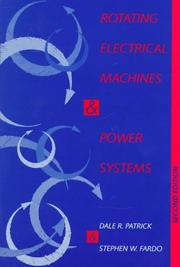 Cover of: Rotating electrical machines and power systems