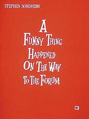 Cover of: A Funny Thing Happened on the Way to the Forum (Vocal Score)