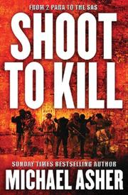 Cover of: Shoot to Kill | Michael Asher
