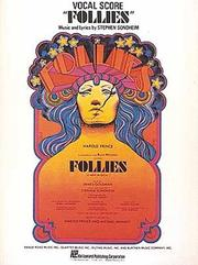 Cover of: Follies (Vocal Score Series)/362215