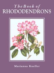 Cover of: The book of rhododendrons |