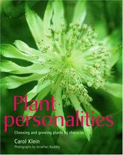 Cover of: Plant Personalities | Carol Klein