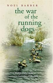Cover of: The war of the running dogs