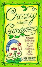 Cover of: Crazy About Gardening