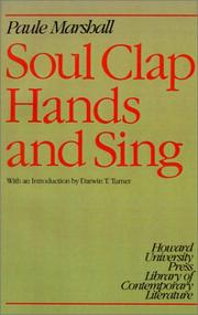 Cover of: Soul clap hands and sing