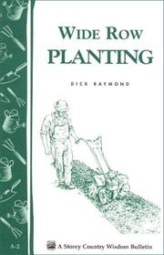 Cover of: a.02 Wide Row Planting