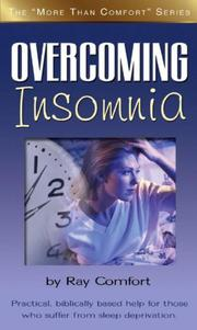 Cover of: Overcoming Insomnia (More Than Comfort)