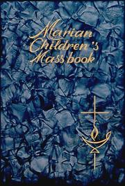 Cover of: Marian Mass Book |