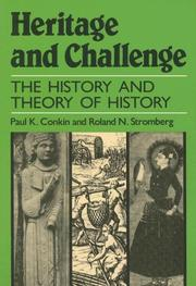 Cover of: Heritage and challenge | Paul Keith Conkin