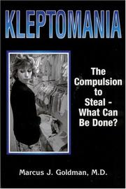 Cover of: Kleptomania