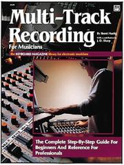 Cover of: Multi-track recording for musicians