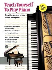 Cover of: Teach Yourself to Play Piano