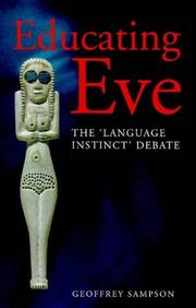Cover of: Educating Eve | Geoffrey Sampson