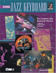 Cover of: Complete Jazz Keyboard Method