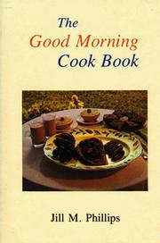 Cover of: The good morning cook book