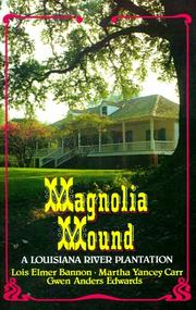 Cover of: Magnolia Mound