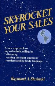 Cover of: Skyrocket your sales