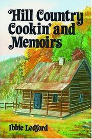 Cover of: Hill country cookin' and memoirs