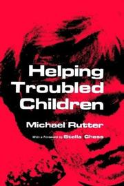 Cover of: Helping troubled children