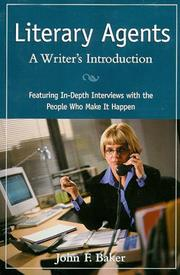 Cover of: Literary Agents: A Writer's Introduction