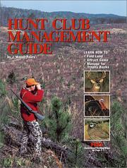 Cover of: Hunt Club Management Guide