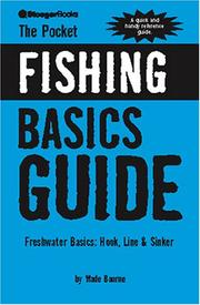 Cover of: The Pocket Fishing Guide | Wade Bourne