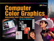Cover of: Computer color graphics