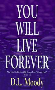 Cover of: You will live forever