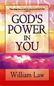 Cover of: God's power in you