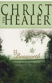 Cover of: Christ the healer