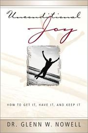 Cover of: Unconditional Joy