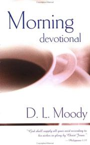 Cover of: Morning Devotional